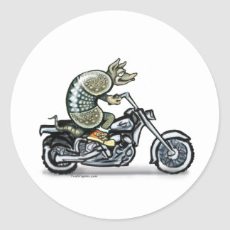 Biker Dillo Sticker