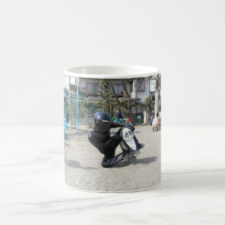 biker dude coffee mug