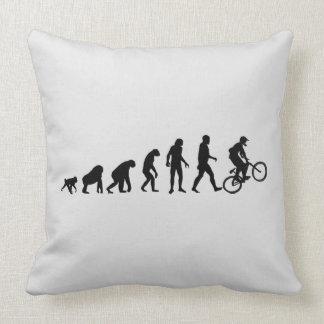 Biker Evolution Pillow