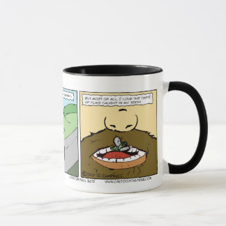 Biker Flies in the Teeth Poem Mug