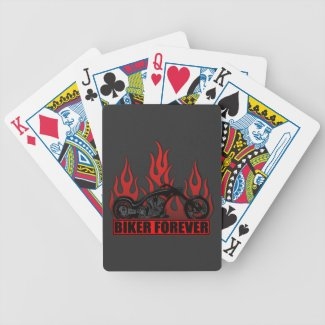 Biker Forever Bicycle Playing Cards