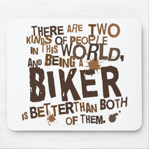 Biker Gift Mouse Pads