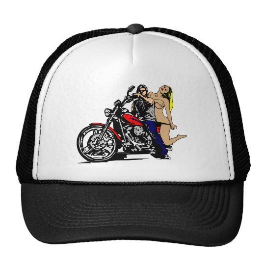 Biker Girl1 Trucker Hat