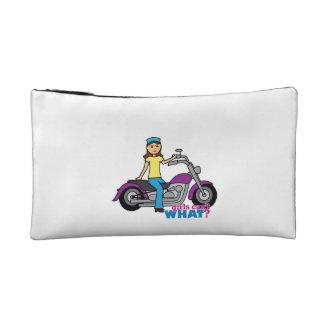 Biker Girl Cosmetics Bags
