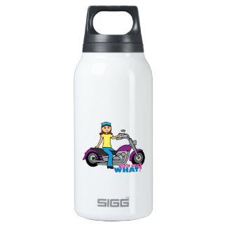 Biker Girl Insulated Water Bottle