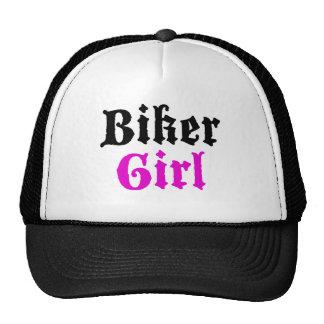 Biker Girl Trucker Hat