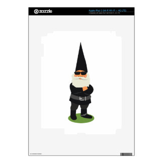 Biker Gnome Decal For iPad 3