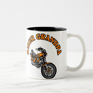 BIKER GRANDPA COFFEE MUGS