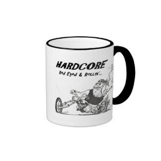 Biker Hardcore Red Eyed & Rollin' Coffee Mug
