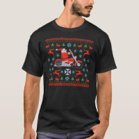 Biker Holiday Sweater Tees