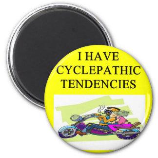 biker humor 2 inch round magnet