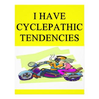biker humor custom flyer