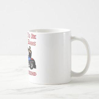 Biker I Plan On Being Behind Bars This Weekend Coffee Mug