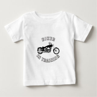 biker in training infant t-shirt