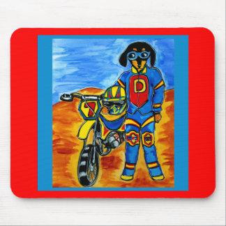 Biker Joanne Mouse Pad