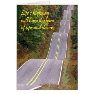 Biker Life's Highway Card