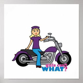 Biker - Light Poster