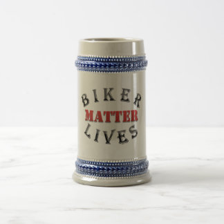Biker Lives Matter Beer Stein