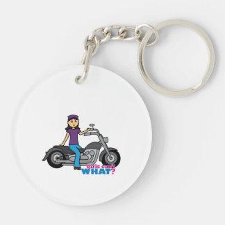 Biker - Medium Keychain
