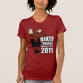 Biker Moose Ladies Tee