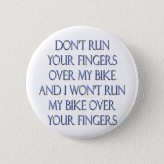 Biker Motorcycle Design Button