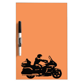biker motorcycle moto goldwing dry erase board