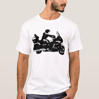 biker motorcycle moto goldwing T-Shirt