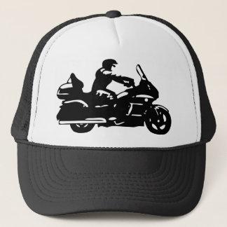 biker motorcycle moto goldwing trucker hat