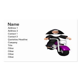 Biker Nun Business Card
