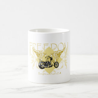 Biker Paid in Full Coffee Mug