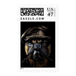 Biker Pug Postage