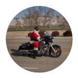 Biker Santa Claus Motorcycle Chip Poker Chips Set