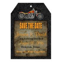 Biker Save The Date Card