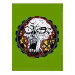 Biker Skull Post Cards
