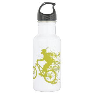 Biker splash water bottle
