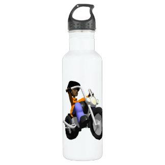 Biker Stainless Steel Water Bottle