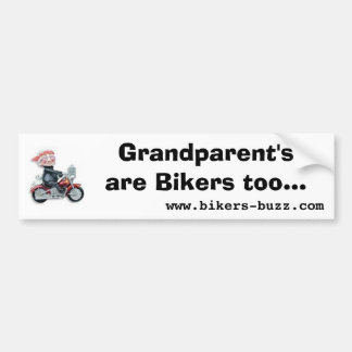 Biker Sticker Bumper Sticker