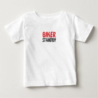 Biker stood by baby T-Shirt