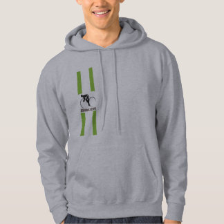 Biker stripe hoody