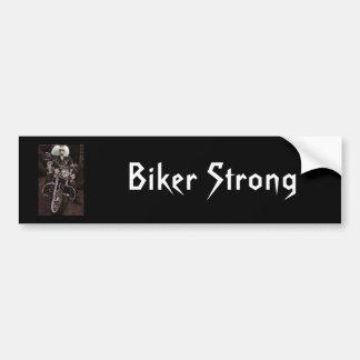 Biker Strong Bumper Sticker