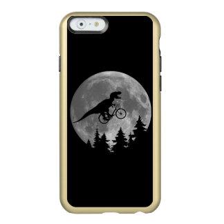 Biker t rex In Sky With Moon 80s Parody Incipio Feather® Shine iPhone 6 Case