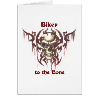 Biker to the Bone Card