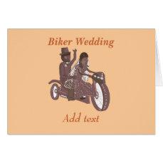 Biker Wedding Products Card