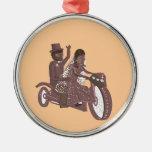 Biker Wedding Products Metal Ornament