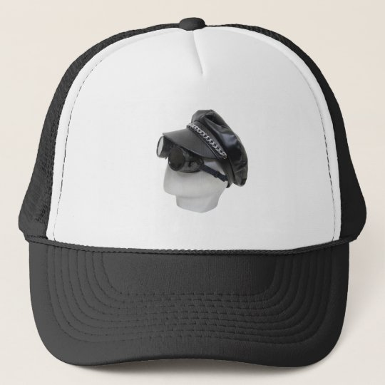 BikerAttire073109 Trucker Hat