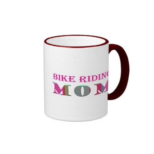 BikeRidingMom Taza A Dos Colores