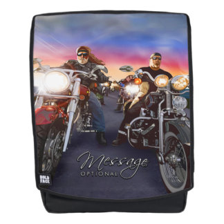 Bikers 1 American Rider Image Options Backpack
