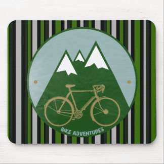 bikers adventure, mountains mouse pad