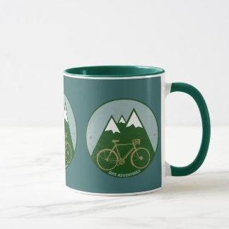 bikers adventure, mountains mug