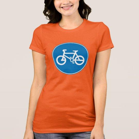 bikers bicycle push bike tshirt